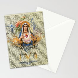 Immaculate Heart of Mary Stationery Cards
