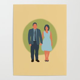 Save the Date - The Couple - Love Poster