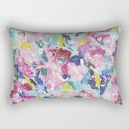 Abstract floral painting 2 Rectangular Pillow