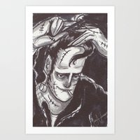 Cool Frank Art Print