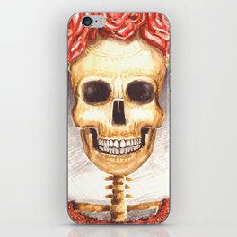 Watercolor Catrina iPhone Skin