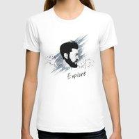 explore T-shirts featuring Explore by Polina Kovaleva