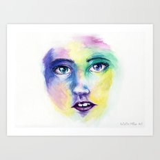 Live for Mardi Gras Art Print