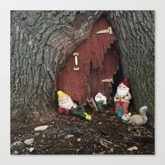 No Place Like Gnome  Canvas Print