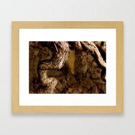 Askew. Framed Art Print