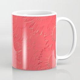 Embossed Sunflowers Coffee Mug