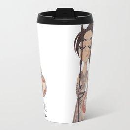 Rey & bb8 by Ashley Nada Travel Mug