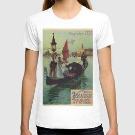 Paris Venice Victorian romantic travel T-shirt