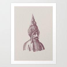 Haute Coiffure  /#1 Art Print