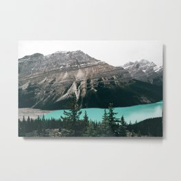Peyto Lake II Metal Print