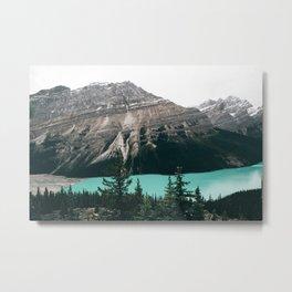 Peyto Lake II Metal Print