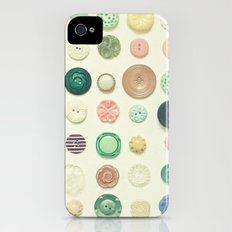 The Button Collection iPhone (4, 4s) Slim Case