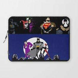 heros an villians Laptop Sleeve