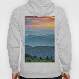 Mountain Range Sunset Hoody