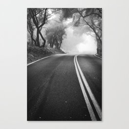 One Way Road Canvas Print