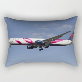 Delta Airlines Boeing 767 Rectangular Pillow