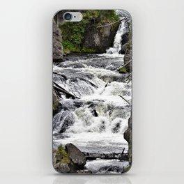 Yellowstone Firehole Falls iPhone Skin