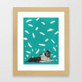 Kicks & Kittens Framed Art Print