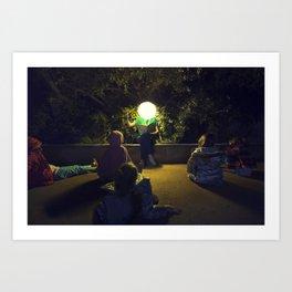 Story Night Art Print
