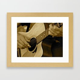 Play On Framed Art Print