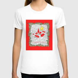 Christmas village. T-shirt