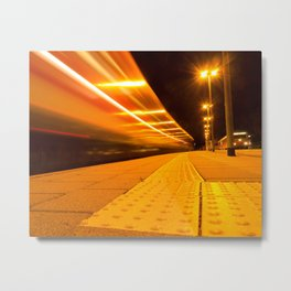 Train from Ulm Metal Print