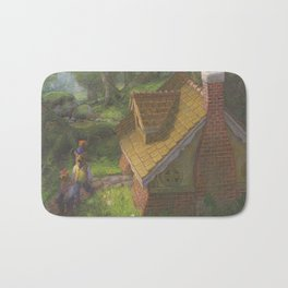 The Three Bears House Bath Mat
