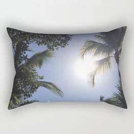tulum palms Rectangular Pillow