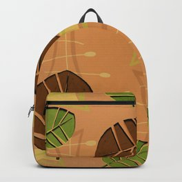 Tiki Bar Wallpaper Pattern Backpack