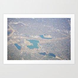 GEOgraphy VII Art Print