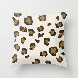 SEEING SPOTS - NEUTRAL Throw Pillow