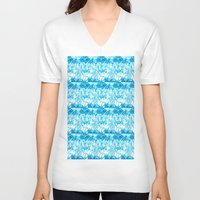 ice V-neck T-shirts featuring Ice. by Assiyam