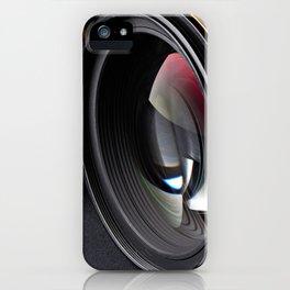 Photo lenses iPhone Case