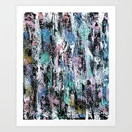Abstract Gabrielle Art Print