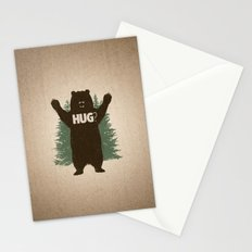 Bear Hug Stationery Cards