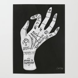 Palm Reading Poster