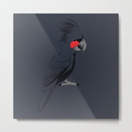 Palm Cockatoo Metal Print