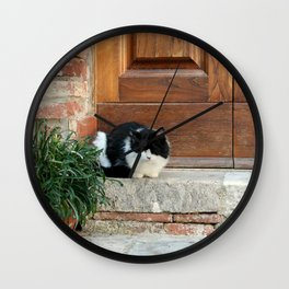 Little Cat Wall Clock