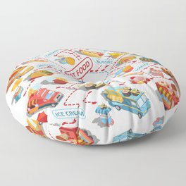 fast food Floor Pillow