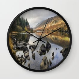 Stay With Me Forever Wall Clock