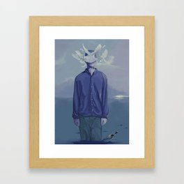 Go on Framed Art Print