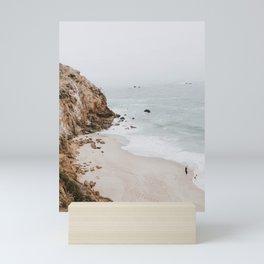 malibu coast / california Mini Art Print