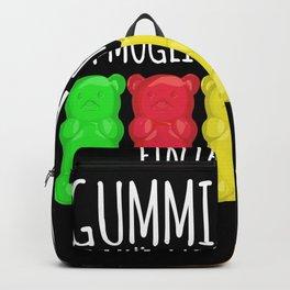 Gummy Bear Funny Saying Joke Backpack
