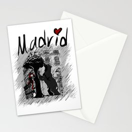 Madrid - Travel Serie Stationery Cards