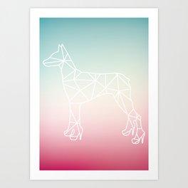 I Wanna Be Your Dog Art Print