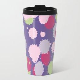Blot ultra violet seamless pattern. Vector illustration Travel Mug