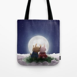 Here with me (under the stars) Tote Bag