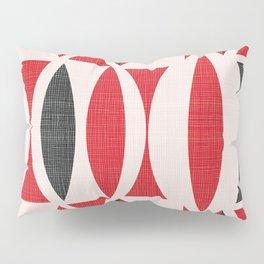 Seventies in Cherry Red Pillow Sham