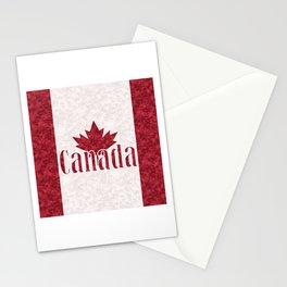 Canada, flag Stationery Cards