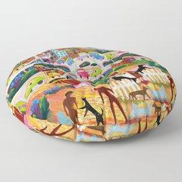 Ambos Nogales Floor Pillow